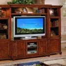 New All Wood Plasma LCD TV Entertainment Center #F4479