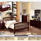 NEW 5pc Queen Full Wood Contemporary Bedroom Set CM7524