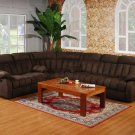 3PC FABRIC SECTIONAL RECLINER MOTION SOFA, #US3066