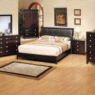 NEW 5pcs All Wood Contemporary Bedroom Set - ITEM#US840