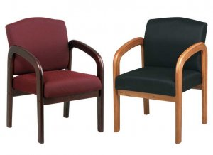 Two New Cherrywood Guest office Chair, SIDE CHAIR ,#105
