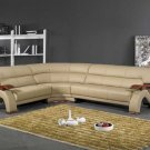 NEW CONTEMPORARY SECTIONAL LEATHER SOFA  ITEM #2033