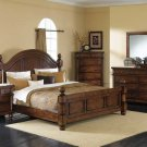 NEW 5pc Queen All Wood Traditional Bedroom Set C-B7800