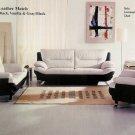3pcs Contemporary Modern Leather Sofa Set, #BM-B214