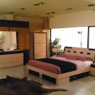 NEW 3pcs CONTEMPORARY BEDROOM SET-CONCORDE