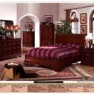 NEW 5pc Queen All Wood Contemporary Bedroom Set #CM7212