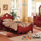 NEW 4pcs All Wood Children Kids Bedroom Set - ITEMF9029