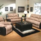 3PCS  NEW Traditional Motion Recliners Sofa Set #US3061