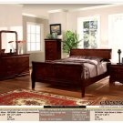 NEW 5pc Queen Full Wood Traditional Bedroom Set CM7825