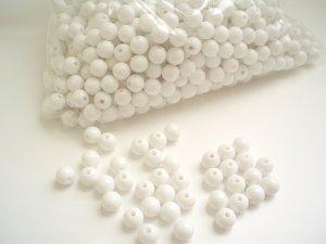 Beads:White (5 oz, over 500 units)