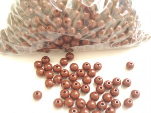 Beads:Brown (5 oz, over 500 units)