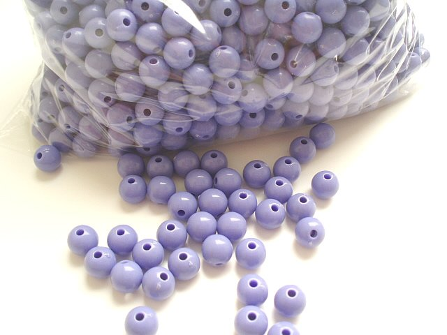 Beads:Purple (5 oz, over 500 units)