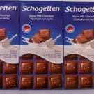 Schogetten Alpine Milk Chocolate 3.5 oz(Pack of 10)