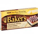 Baker's Premium White Chocolate Baking Bar 4 oz (Pack of 5)
