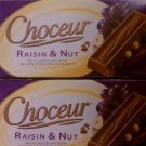 Choceur Milk Chocolate -- Raisin & Nut 7.05 oz (Pack of 6)