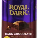 Cadbury Royal Dark Bar, Dark Semi-Sweet Chocolate, 3.5-Ounce Bars(Pack of 6)