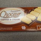 Choceur Milk Chocolate/ White Chocolate Bar Coffee & Cream 7.05 oz (Pack of 6)