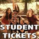 STUDENT TICKETS (18 or Under) - Starting Fires Show at Matilda's - 6/20 @7pm