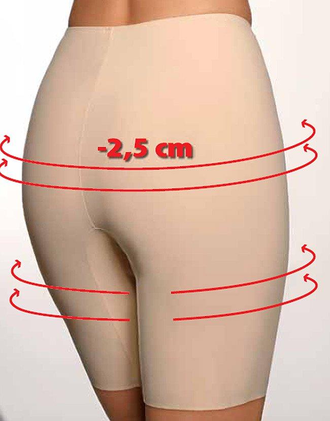Beauty slim anti-cellulite panties. Nude. Size S