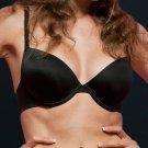 Smart Memory black push-up bra 36C