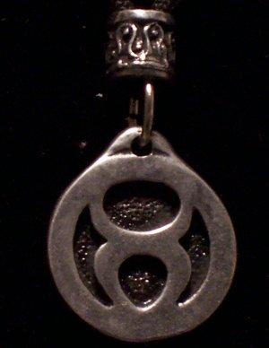 Pewter Taurus Pendant