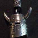Pewter Horned Helm Pendant