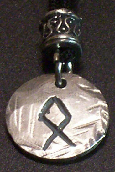 Pewter Rune Pendant-Othel- Possessions
