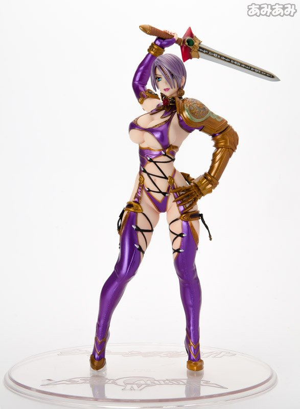 QUEEN'S GATE SOULCALIBUR SOUL CALIBUR IV IVY VALENTINE - 1/8 FIGURE STATUE - HOBBY JAPAN / LIMITED