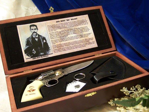 DOC HOLLIDAY GUN KNIFE SET