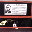 Jesse James Gun Knife, Holster, Key Chain Set