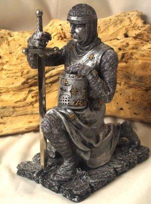 "Medieval Soldier In Armor ""Letter Opener"""