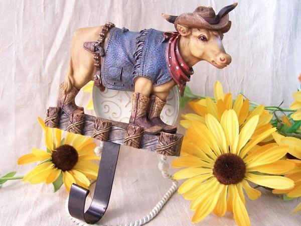"Western ""Cow Boy"" Wall Hook"