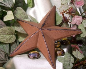 Cast Iron Nail Star - X-Large