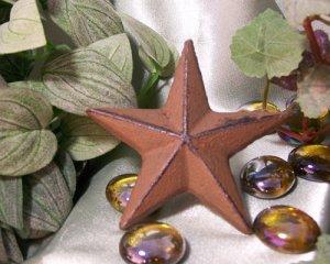Cast Iron Nail Star - Medium SET of 12