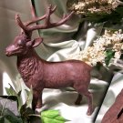 Cast Iron Deer Bank RUST Color