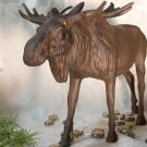 Cast Iron Moose Figure