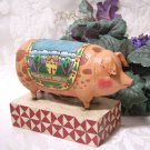 Pig Figurine Jim Shore Heartwood Creek