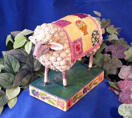 Jim Shore Sheep Figurine