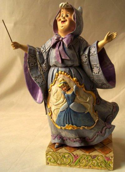 Jim Shore Disney's Cinderella Fairy Godmother