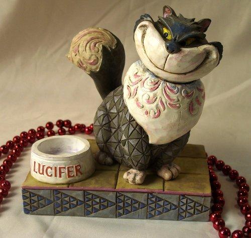 "Jim Shore Disney's Cinderella Cat ""Lucifer"""