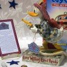 "Jim Shore Disney's Donald Duck ""Ever Willing"""