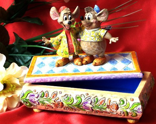 "Jim Shore Disney's ""Jaq & Gus"" Jewelry Box"