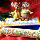 "Jim Shore Disney's ""Jaq & Gus"" Jewelry Box"