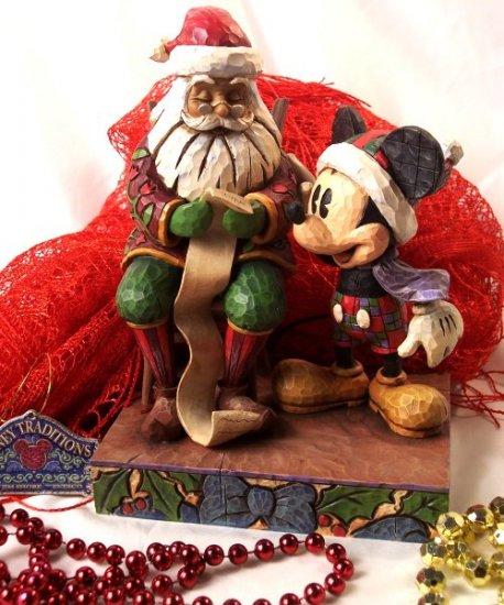 "Disney's Mickey Mouse & Santa ""Checking It Twice"""