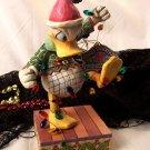 "Jim Shore Disney's Donald Duck ""Santa's Helper"""