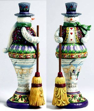 Jim Shore Snowman Nutcracker