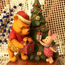 "Winnie The Pooh & Piglet ""Christmas Gift"""