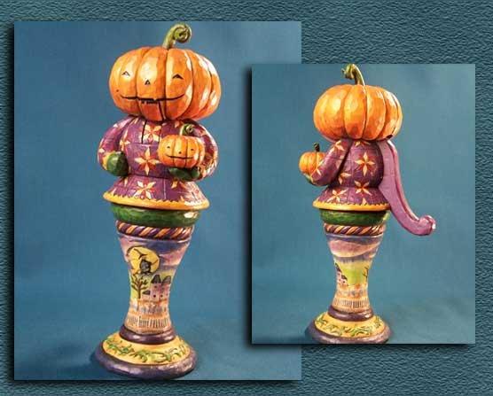 Jim Shore Pumpkin Nutcracker