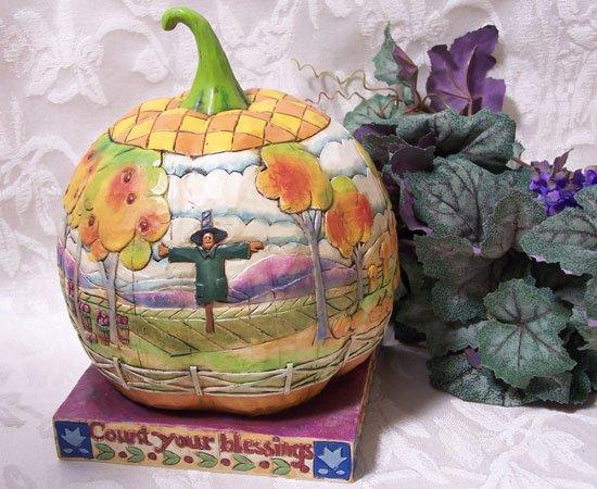 Jim Shore - Pumpkin Count You Blessings