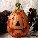 Jim Shore Pumpkin Head Birdhouse